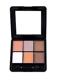 6Color Eye Shadow For A Lasting True Color