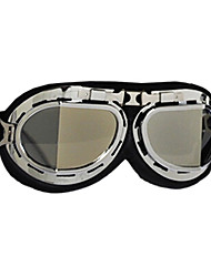 pliegue marca casco gafas moto motocicleta gafas moto anteojos de seguridad de cristal de plata
