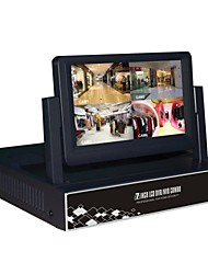 7 Inch 8CH 960H with HDMI and P2P LCD DVR for DVR-6804HM-S2