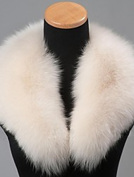 Ferrand unisex Szenehalswärmer echte echte Fuchspelzkragen Schal-Verpackungs-