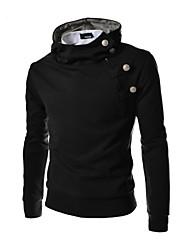 Informell Kapuzenshirt - Langarm - MEN - Pullover mit / ohne Mützen (Baumwolle / Baumwoll Mischung)