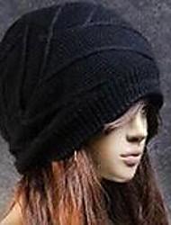 Unisex Wool Blend Beanie/Slouchy , Casual Winter