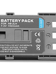 1500mAh 7.4V Digital Camera Mini DV Batttery for Canon NB - 2LH