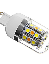 4W G9 LED Corn Lights T 31 SMD 5050 280 lm Natural White AC 220-240 V