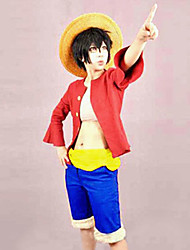 One Piece Monkey·D·Luffy Two Years Later Cosplay Costume