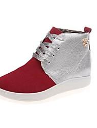 zapatos de las mujeres shimandi punta redonda zapatillas de deporte de moda los zapatos de tacón plano más colores disponibles