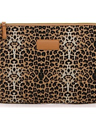 "10.1"" Canvas Leopard Laptop Cover Sleeves Shakeproof Case for SAMSUNG or iPad"