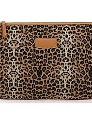 """10,1 """"manches de couverture léopard portable de toile de cas shakeproof pour Samsung ou iPad"""
