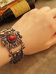 Maetel pierre découpé bracelet