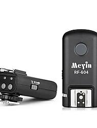 Meyin drahtlosen High-Speed-Blitzauslöser RF-604 für Nikon D800 D700 D90