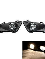 Tirol Fog Light kit 55W H3 OEM Replacement for Mazda6 2003-2005 Pickup Truck Front Bumper Lamps Pair