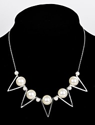 Statement Necklaces Alloy / Imitation Pearl Wedding / Party / Daily / Casual Jewelry