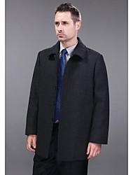 Мужская кашемировая куртка с длинным рукавом