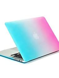 """coosbo® colorido mate recubierto de goma duro caso para 13 """", 15"""" MacBook Pro mac pulgadas"""