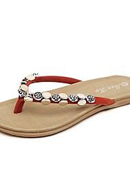 los zapatos de las mujeres flip flop zapatos más colores disponibles talón sandalias planas