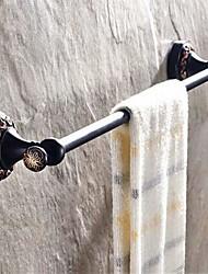 """Держатель для полотенец Тосканская бронза Крепление на стену 630 x 66 x 70mm (24.80 x 2.59 x 2.75"""") Медь Античный"""