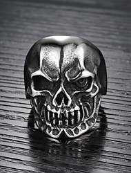 Evil Ambition Skulls Men Ring Cool Personality