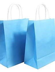 21*11*27cm Medium 10 PCS Environmental Crafts Paper Gift Bags