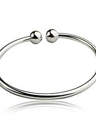 simplicité élégante bracelet glacis d'argent de WEIMEI femmes