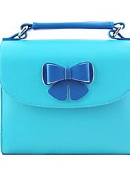 pu sac photo en cuir avec décoration papillon pour mini7s FUJIFILM / 8/25/90