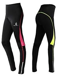 invierno de las mujeres en bicicleta otoño ropa térmica oeste biking® con pantalones de ciclismo cálidos acolchados medias de compresión