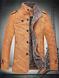 C&K Men's New Korean Slim Coat Jacket