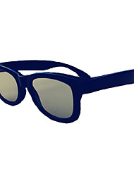 3d circular miopía polarizada unisex gafas 3D estéreo sin flash de tipo, dedicados para 3d tv izquierda y formato correcto