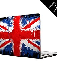 "Water Colorful UK Flag Design Full-Body Protective Plastic Case for MacBook Pro 13""/15"" (Non-Retina)"