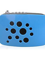 Loudspeaker Voice Amplifier Megaphone Wireless TF Support AUX MP3 FM Voice Recording Large Power K100