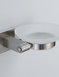 304 Stainless Steel Nickel Brushed Soap Dish Holder