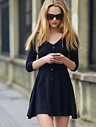 Women's Dresses , Cotton Upfei