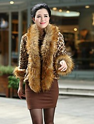 Fur Coats Fur Jacket Women's Fashion Slim Fur Jacket