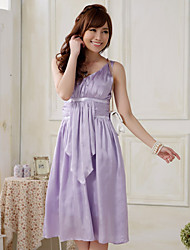 elegante vestido de dama de honra do partido / casamento das mulheres princesa sexo equipado plus size