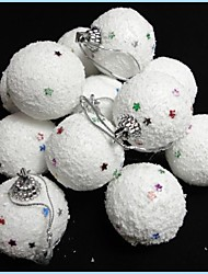 Christmas Tree Ornaments Snowball (Set of 12)