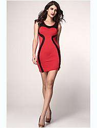 tracy&co vrouwen mouwloze mantel jurk