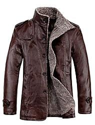 b&veste en cuir de base q hommes