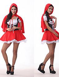 Roodkapje Halloween-kostuum