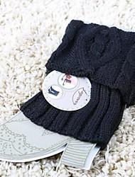 Women's Fashion Personality Warm Flanging Diamond Small Eight Feet Socks