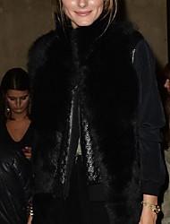 plus size pelliccia di volpe maglia delle donne