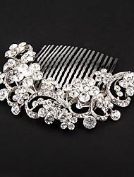 Women's Alloy Headpiece-Wedding Special Occasion Hair Combs Flowers