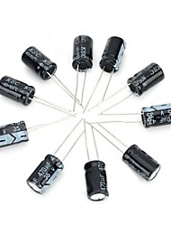 DIY 35v / 470uF Aluminium-Elektrolytkondensator - Schwarz (10 Stück)