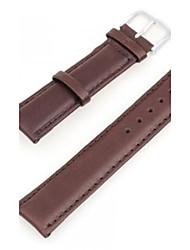 Unisex PU Leather Watch Band Strap 200MMx20MMx3MM