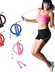 KYLIN SPORT™ Crossfit Speed Canle Wire Skipping Jump Rope Adjustable Length Cardio Heart