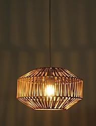 hanglampen 1 licht landelijke stijl schilderij rotan