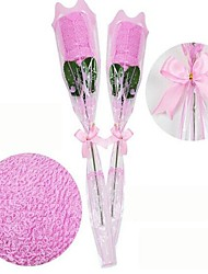 Novel Towel Can Be Used As Gift Like Roses(Random Color)