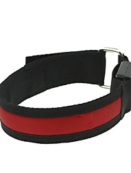 LED-Licht-Armbinde Band Armbinde rot (2xCR2032)