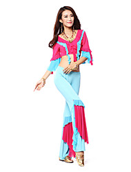 Dancewear Women's Milk Silk/Tulle Belly Dance Outfits(More Colors)