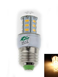 Zweihnder E26/E27 5 W 24 SMD 3528 500 LM Warm White T Decorative Corn Bulbs AC 85-265 V