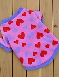Katzen / Hunde T-shirt Rose Hundekleidung Winter Herzen Hochzeit / Cosplay