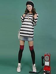 женская японский студент стиль высокой колена чулок